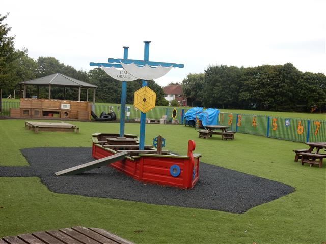 Early Years outside area