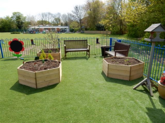 Early Years planters